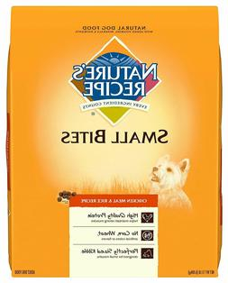 Nature'S Recipe Adult Dry Dog Food Small Bites Chicken Meal