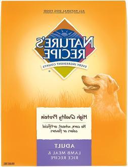 Nature's Recipe Adult Lamb Meal & Rice Recipe Dry Dog Food/
