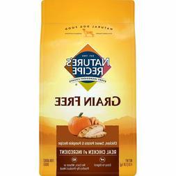 Nature'S Recipe Grain Free Dry Dog Food Chicken, Sweet Potat