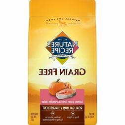 Nature'S Recipe Grain Free Dry Dog Food Salmon & Potato Pump