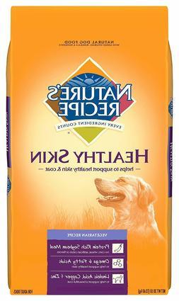 Nature'S Recipe Healthy Skin Dry Dog Food, 30 lb, Vegetarian