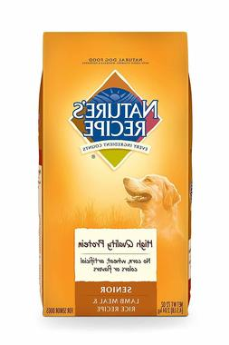 Nature'S Recipe Senior Lamb Meal & Rice Recipe Dry Dog Food