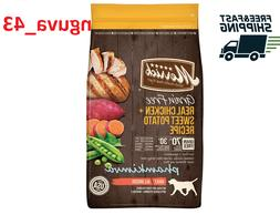 New 25lb Merrick Grain-Free Real Chicken+ Sweet Potato Recip