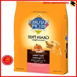 NEW Nature'S Recipe Grain Free Dry Dog Food Salmon Sweet Pot