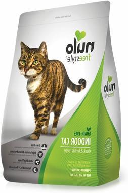 Nulo Grain Free Dry Cat Food - Indoor, Adult Trim, or Hairba
