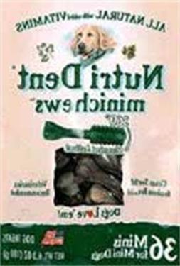 Nylabone Nutri Dent Original Minichews for Mini Dogs, 36-Cou