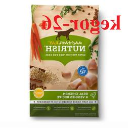 Rachael Ray Nutrish Natural Dry Dog Food, Real Chicken Veggi