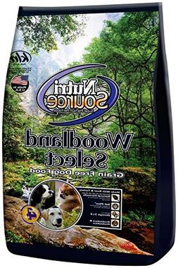 Nutri Source Woodlands Select Grain Free Dog Food - Boar & T