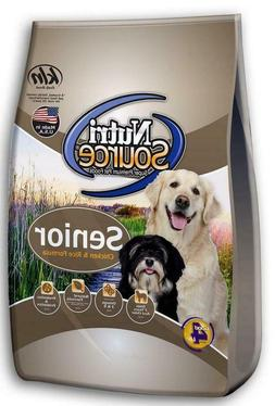 NutriSource Senior Chicken and Rice Dry Dog Food