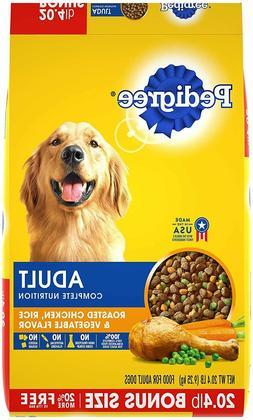 Nutrition Adult Dry Dog Food Roasted Chicken Rice & Vegetabl