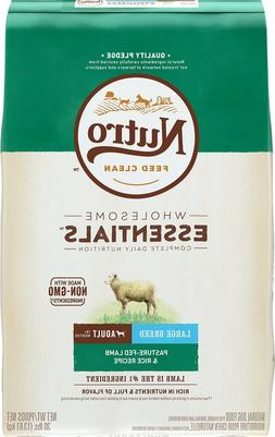 NUTRO WHOLESOME ESSENTIALS Large Breed Puppy Pasture-Fed Lam