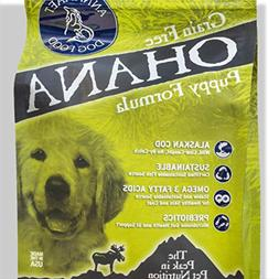 Annamaet Ohana Puppy Formula Dry Dog Food 25 Lb. Bag. with W