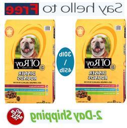 Ol' Roy Dinner Rounds Dry Healthy Dog Food, Balanced Nutriti