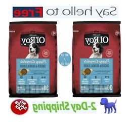 Ol' Roy Puppy Complete Chicken & Oatmeal Dry Dog Food, 30 lb