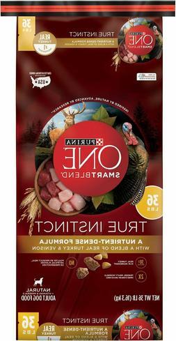 Purina One Dog Dry SmartBlend True Instinct Turkey and Venis