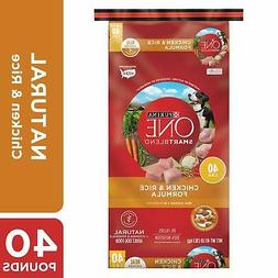 Purina ONE Natural Dry Dog Food SmartBlend Chicken & Rice Fo