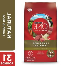 Purina ONE Natural Dry Dog Food, SmartBlend Lamb & Rice Form