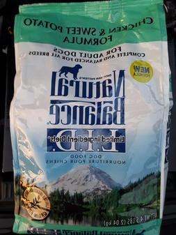 Organic Dog Food: Natural Balance Limited Ingredients Diet.