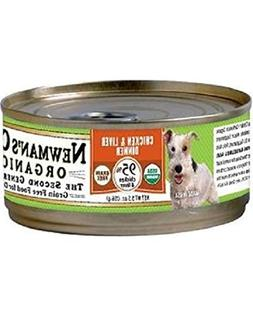 Newman'S Own Organics Chicken & Liver Dinner For Dogs