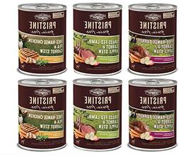 Organix Pristine Stew Grain Free Canned Dog Food 3 Flavor Va