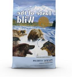 Taste of the Wild Pacific Stream Grain-Free Dry Dog Food 28-