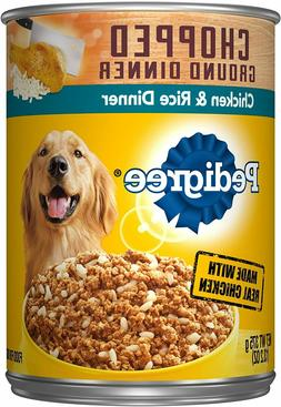 pedigree chopped ground dinner wet dog food