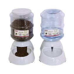 Betwoo Pet Feeder Waterer,Cat Food And Water Dispenser,Autom