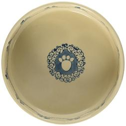 """Pet Rageous 1.5 Cup Posh Pet Bowl, 5"""", Ocean Blue"""