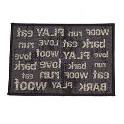"Pet Rageous Vintage Tapestry Mat Feeder, 13 x 19""/Small, Dar"