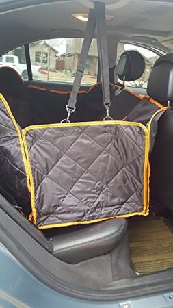 G & G Pet Seat Cover,Pet Car Hammock - Waterproof, Non Slip,