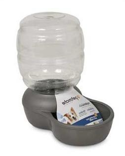 Petmate Replendish Water With Microban Brushed Nickel 2.5 Ga