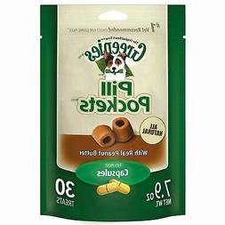 Greenies Pill Pockets Peanut Butter Dog Treat Size: 7.9 OZ