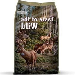 Taste of the Wild Pine Forest Dry Dog Food  28 lb. Bag. Grai