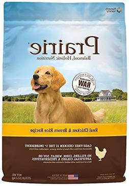 Prairie Real Chicken & Brown Rice Recipe Natural Dry Dog Foo