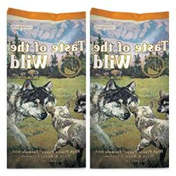 Taste of the Wild 2 Pack High Prairie Puppy Dry Dog Food,  -