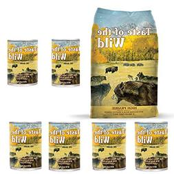 Taste of the Wild High Prairie Variety Pack Dog Food Combo B