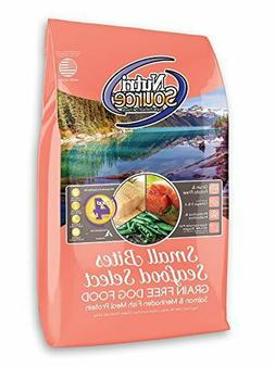 Premium Nutri Source Grain Free Small Breed Seafood Select F