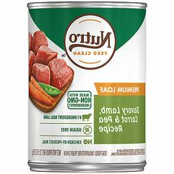 Nutro Premium Loaf Savory Lamb, Carrot & Pea Recipe Adult Ca