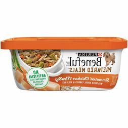 Purina Beneful Prepared Meals Adult Chicken Medley Wet Dog F