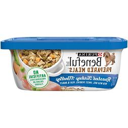 Purina Beneful Prepared Meals Roasted Turkey Medley Wet Dog