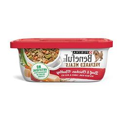 Purina Beneful Prepared Meals Beef & Chicken Medley Adult We