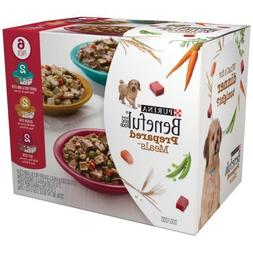 2 Pack of Purina Beneful Prepared Meals Variety Pack Dog Foo
