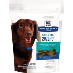 Hill's Prescription Diet Dental Care Chews Small Dog Treats,