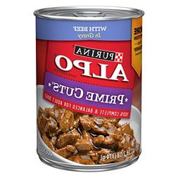 Purina ALPO Prime Cuts With Beef in Gravy Adult Wet Dog Food