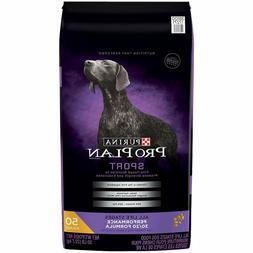 New Inbox Purina Pro Plan Sport Formula Dry Dog Food 50-lb F