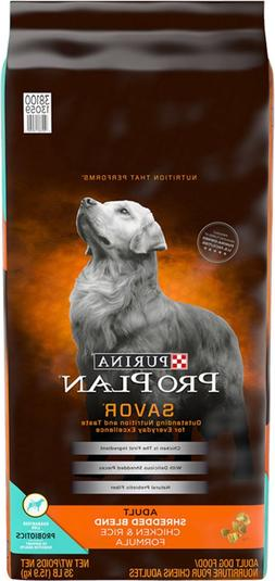 Purina Pro Plan Savor Adult Shredded Blend Chicken & Rice Fo