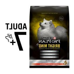 Purina Pro Plan Senior Dry Dog Food, BRIGHT MIND Chicken & R