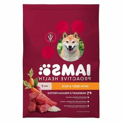 proactive health adult dry dog food beef