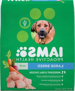 Iams ProActive Health Adult Large Breed Dry Dog Food Crunchy