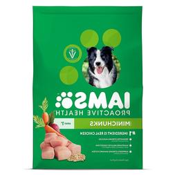 IAMS PROACTIVE HEALTH Adult MiniChunks Dry Dog Food-Real Chi